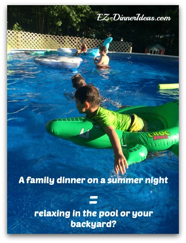 Summer dinner ideas will help you to relax and enjoy the weather.